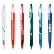Ручка шариковая X-ONE FROST пластиковая