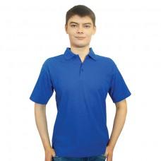 Рубашка Поло васильковая